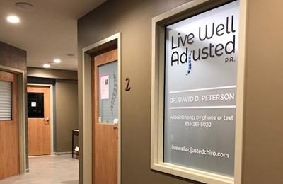 Chiropractic Woodbury MN Office Entrance Door